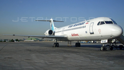 EP-ASP - Fokker 100 - Iran Aseman Airlines
