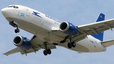 LV-BBZ - Boeing 737-3S3(SF) - Aerolíneas Argentinas Cargo