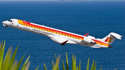 EC-JTU - Bombardier CRJ-900ER - Iberia Regional (Air Nostrum)