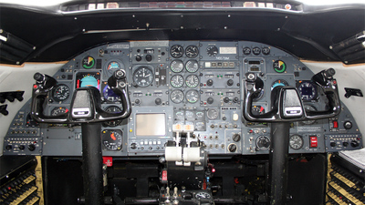 N657BM - Gates Learjet 25D - Private