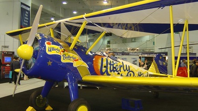 - Boeing A75N1 Stearman - Utterly Butterly Barnstormers