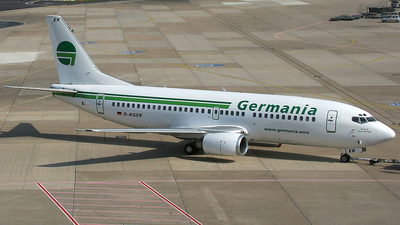 D-AGEK - Boeing 737-3M8 - Germania