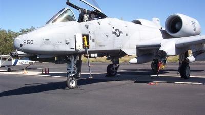 80-0250 - Fairchild A-10A Thunderbolt II - United States - US Air Force (USAF)