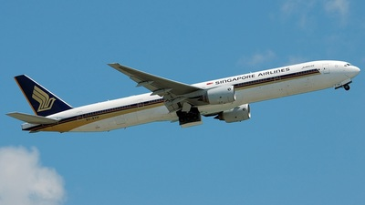 9V-SYH - Boeing 777-312 - Singapore Airlines