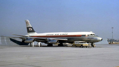 JA8025 - Convair CV-880 - Japan Airlines (JAL)
