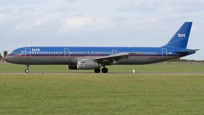 G-MIDJ - Airbus A321-231 - bmi British Midland International