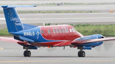 N145LG - Beechcraft B200 Super King Air - LifeMed Alaska