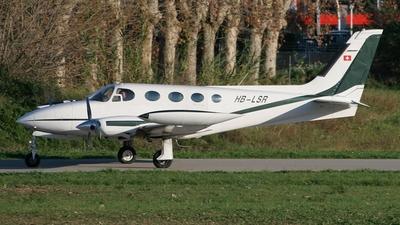A picture of HBLSR - Cessna 340A - [3400180] - © Alfredo La Marca