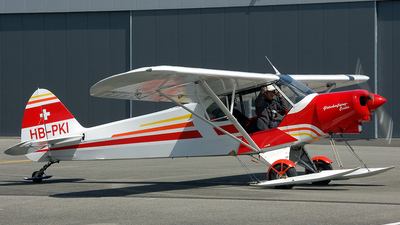 HB-PKI - Piper PA-18-150 Super Cub - Private