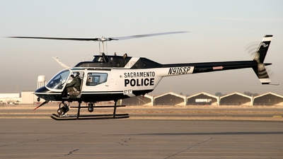 N916SP - Bell OH-58A+ Kiowa - United States - Sacramento Police Department