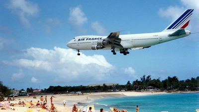 F-GPVP - Boeing 747-128 - Air France