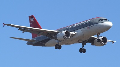 N341NB - Airbus A319-114 - Northwest Airlines