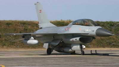 ET-206 - General Dynamics F-16BM Fighting Falcon - Denmark - Air Force