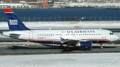 N748UW - Airbus A319-112 - US Airways