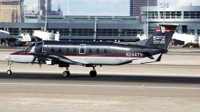 N244YV - Beech 1900D - US Airways Express (Air Midwest)
