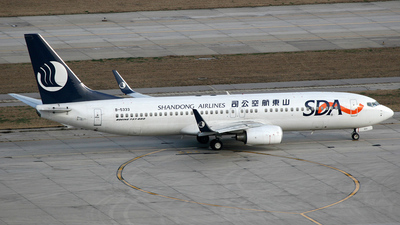 B-5333 - Boeing 737-8FH - Shandong Airlines