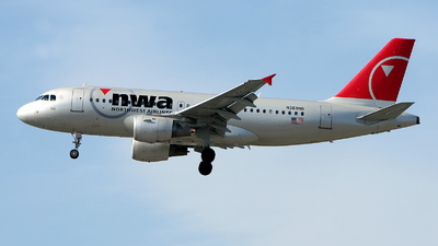 N369NB - Airbus A319-114 - Northwest Airlines