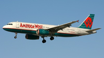 N624AW - Airbus A320-231 - America West Airlines