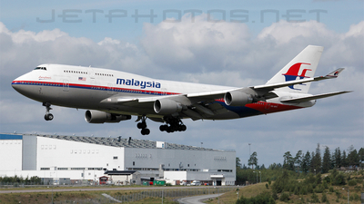 9M-MPH - Boeing 747-4H6 - Malaysia Airlines