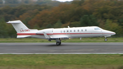 A picture of LXIMZ - Learjet 45 - [45266] - © Skily