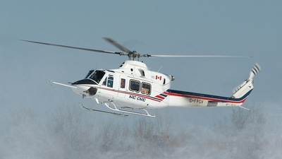C-FPGV - Bell 412 - Canada - National Research Council