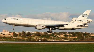 N380WA - McDonnell Douglas MD-11(F) - World Airways Cargo
