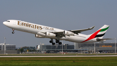 A6-ERS - Airbus A340-313X - Emirates