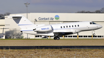 N984JC - Hawker Beechcraft 4000 - Private