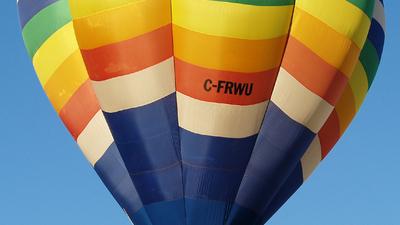 C-FRWU - Cameron V-77 - Private