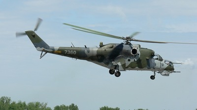 7360 - Mil Mi-35 Hind - Czech Republic - Air Force