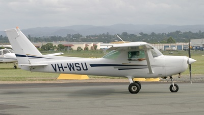 VH-WSU - Cessna 152 - Aero Club - Royal Queensland