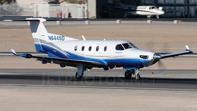 A picture of N644SD - Pilatus PC12/45 - [644] - © Dean Heald