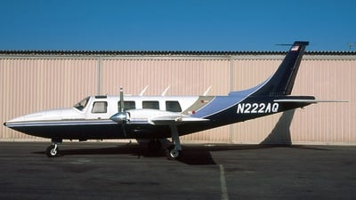 N222AQ - Piper PA-60-601P Aerostar - Private