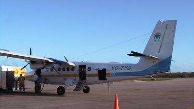 VQ-TVG - De Havilland Canada DHC-6-300 Twin Otter - InterIsland Airways