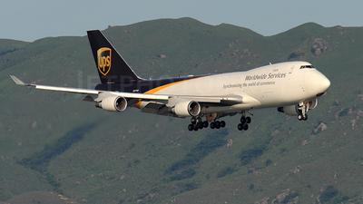 N571UP - Boeing 747-44AF(SCD) - United Parcel Service (UPS)