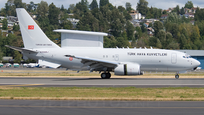 N356BJ - Boeing 737-7ES Wedgetail - Turkey - Air Force