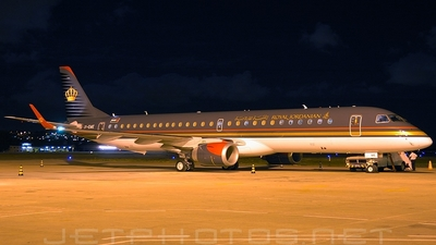 JY-EME - Embraer 190-200LR - Royal Jordanian