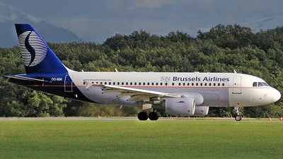 OO-SSK - Airbus A319-112 - SN Brussels Airlines