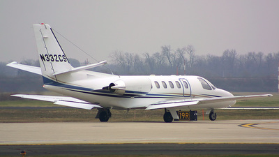 N332CS - Cessna 550B Citation Bravo - Private