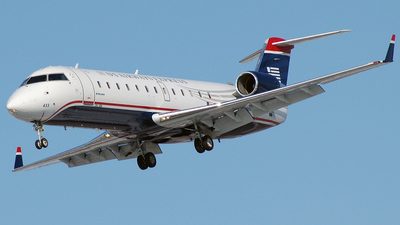 N433AW - Bombardier CRJ-200LR - US Airways Express (Air Wisconsin)