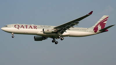 F-WWKF - Airbus A330-302 - Qatar Airways