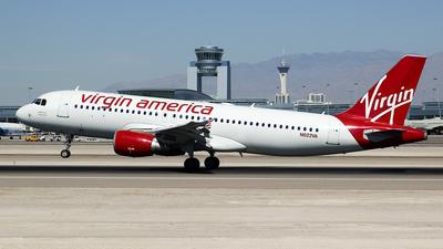 N622VA - Airbus A320-214 - Virgin America