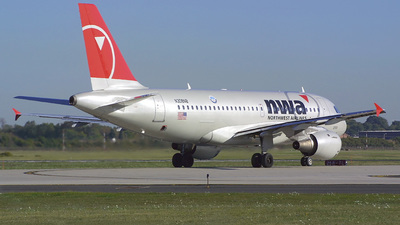 N308NB - Airbus A319-114 - Northwest Airlines