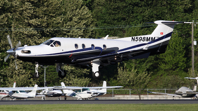 A picture of N598MM - Pilatus PC12/45 - [598] - © Bianca Renz