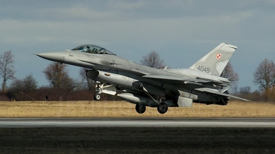 4049 - Lockheed Martin F-16C Fighting Falcon - Poland - Air Force