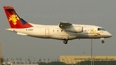 B-3983 - Dornier Do-328-300 Jet - Grand China Express