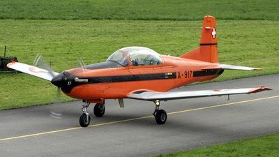 A-917 - Pilatus PC-7 - Switzerland - Air Force