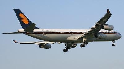 VT-JWA - Airbus A340-313X - Jet Airways