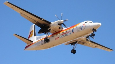 PH-PRG - Fokker 50 - Iberia Regional (Air Nostrum)
