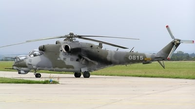 0815 - Mil Mi-24V Hind E - Czech Republic - Air Force